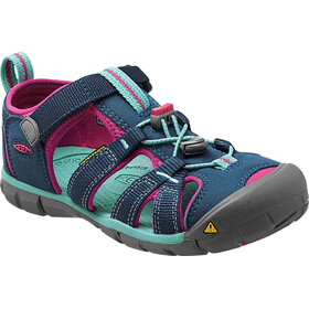 Keen Children Seacamp II CNX Sandals Poseidon/Very Berry